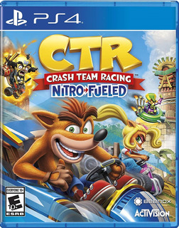 Crash Team Racing Nitro Fueled Ctr - Ps4 - Fisico -