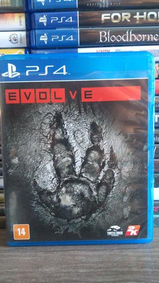 Evolve Mídia Física Usado Playstation 4