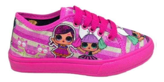 Tenis Lol Infantil Menina Promoção E Minnie Vários Sem Led