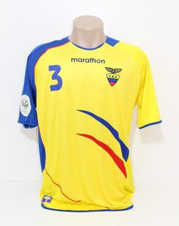 Camisa Original Equador 2006 Home #3 Hurtado