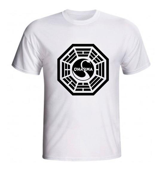 Camiseta Dharma Iniciativa Lost Série