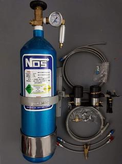 Equipo Oxido Nitroso 1 Inyector Sistema Humedo Garrafa 4 Kg