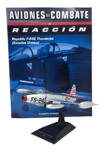Imagen 1 de 9 de Aviones De Combate Nº 06 Republic F-84 E Thunder