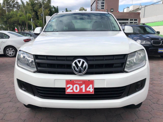 Volkswagen Amarok Tdi 4x4 2014 Blanca Automatic, Hangar Gale