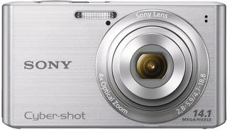 Sony Dsc-w610 Cyber-shot- Color Plateado