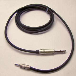 Cabo De Áudio Balanceado P2 X P10 Estéreo 2 M Amp Amphenol