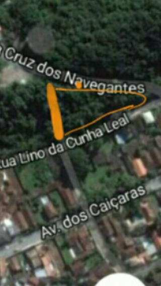 Terreno Guaruja 2050 Metros Quadrados Pr Do Tombo/actroca