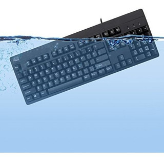 Teclado Impermeable Antimicrobiano Adesso Easy Touch 630ub A