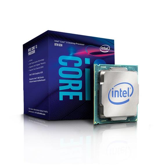 Processador 1151 Core I3-8100 3.6ghz/3mb Box Intel