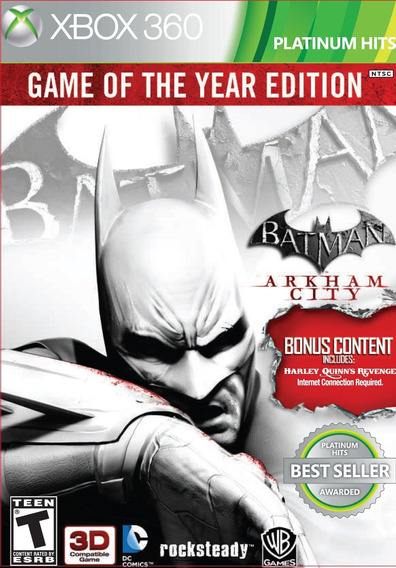 Batman Arkham City - Xbox 360 Marca Dos Produtos