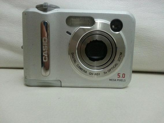 Camera Fotográfica Digital Casio Qv-r51