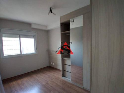 Apartamento Com 1 Dormitório Para Alugar, 45 M² Por R$ 2.200,00/mês - Consolação - São Paulo/sp - Ap43573