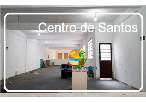 Loja Comercial Para Locação No Centro De Santos - Loc11 - 32392850
