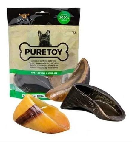 Kit Casco De Boi Com 3 Unidades 100% Natural - Puretoy