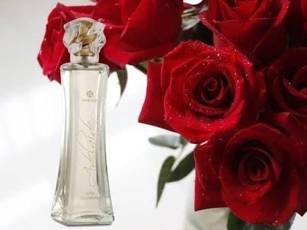 Perfume Feminino Adelaide Em Flor Rosa Colombiana Hinode 50m
