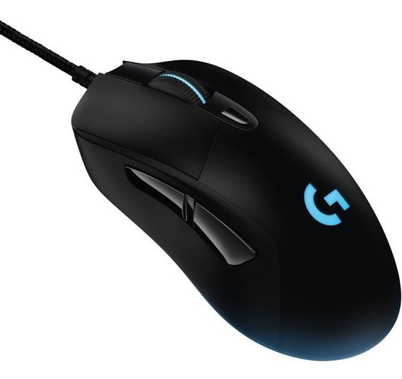 Mouse Gamer Logitech G403 Prodigy 12000 Dpi Iluminação Rgb