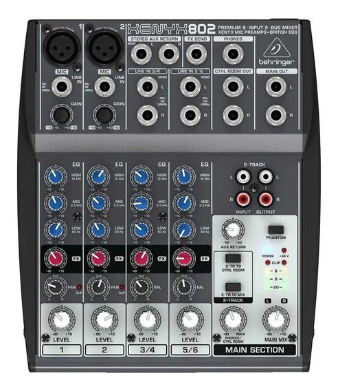 Mesa De Som Xenyx 110v Mixer 802 - Behringer