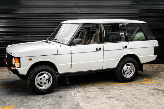 1986 Range Rover Classic Não É Land Rover Defender