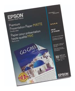 Papel Matte De Presentación Premium Epson A4 X50 Hojas