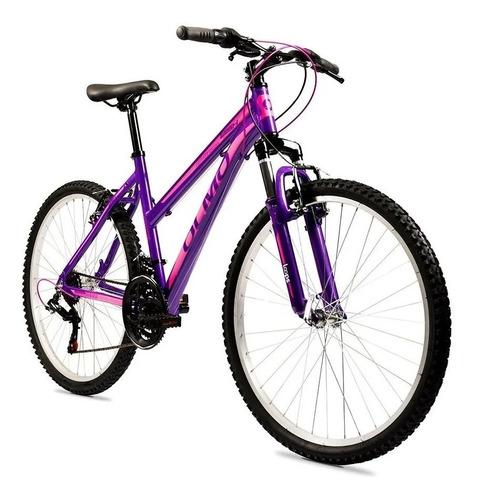 Bicicleta Olmo Wish 265 Dama Rod 26 21vel Shimano Aluminio