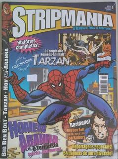 Revista Stripmania N° 2 Ano 2003 - Spider, Tarzan E Bolt