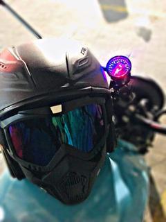 Careta Para Motociclista Desmontable