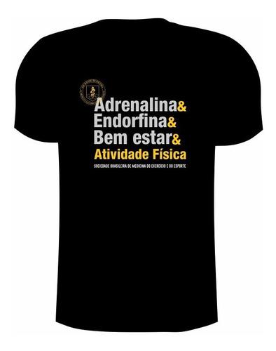 Camiseta Dry Fit De Poliamida  Com Uv50+ Adrenalina