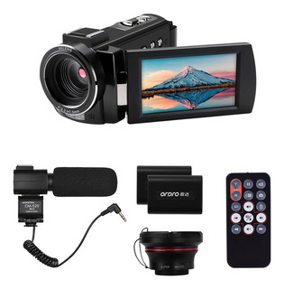 Ordro Hdv-ae8 4k Cámara De Video Digital Wifi Videocámara