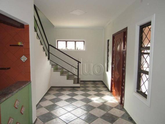 Casa Com 2 Dormitórios Para Alugar, 106 M² Por R$ 1.600/mês - Centro - Piracicaba/são Paulo - Ca3070