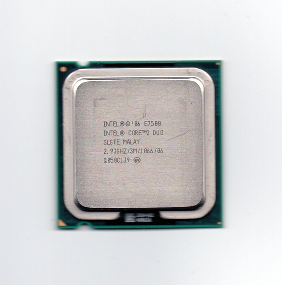 Processador Intel Core 2 Duo E7500 2.93ghz Lga 775 3mb Cache
