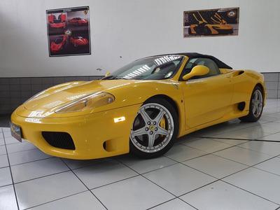 Ferrari F360 F1 Modena 2004 Amarela Conversivel Top 19km