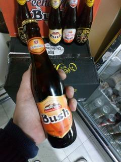 Cerveza Bush Ambree 12% Importada Bélgica ,caballito