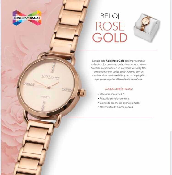 Reloj Rose Gold By Oriflame