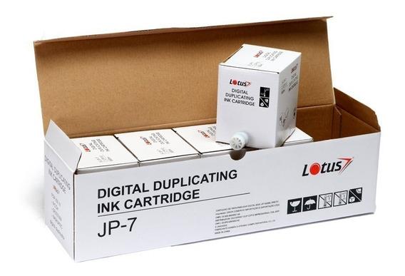 Tinta Preta Duplicador Digital Ricoh Dx 2430 2330 Lotus