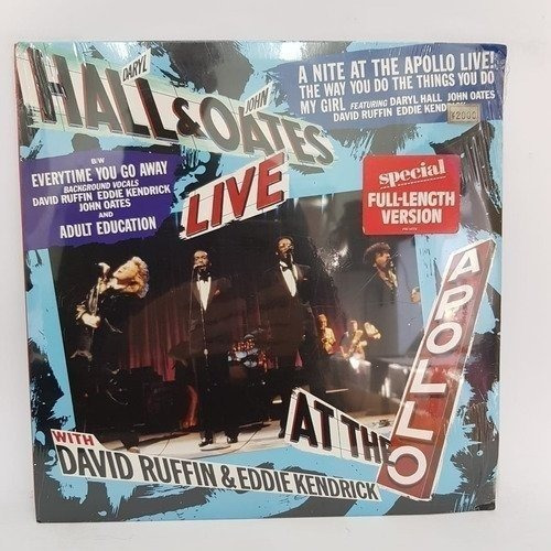 Daryl Hall & John Oates A Nite At The Apollo Vinilo [nue