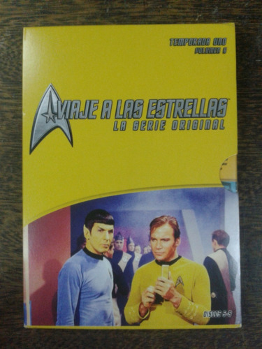 Imagen 1 de 7 de Star Trek Original * Temp 1 / Discos 5 Al 8 * 4 Dvd Original