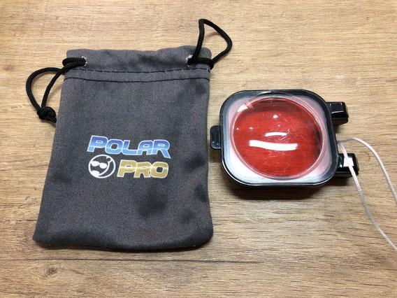 Lente De Mergulho Polar Pro Para Gopro Hero 3 3+ E 4