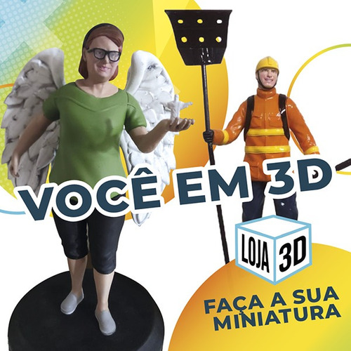 Imagem 1 de 12 de Você Em 3d - Miniatura Personalizada - Impressão 3d