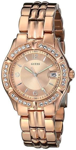 Relógio Guess Rosê/laranjado U0113l5