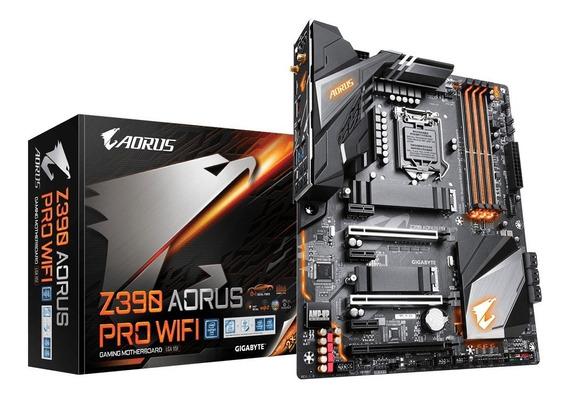 Gigabyte Z390 Aorus Pro Wifi Rgb Intel 8° 9° Gen Sli Cross U3.1