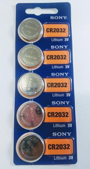 Cartela C/5 Bateria2032 Balança, Pc, Aparelho De Glicemia