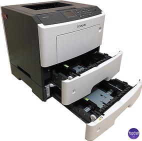 Impressora Profissional Lexmark Laser Grátis Bandeja+3 Toner