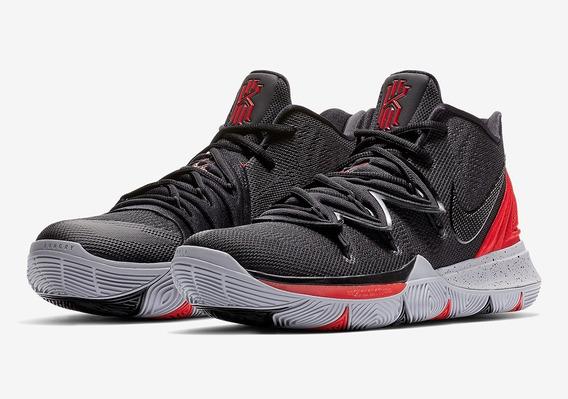 Tênis Nike Kyrie 5 Bred Original Garantia Cupom Fiscal