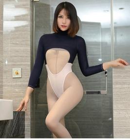 Baby Doll (body) Azul M-rosa, Crotch, Mangas, Escotes 927