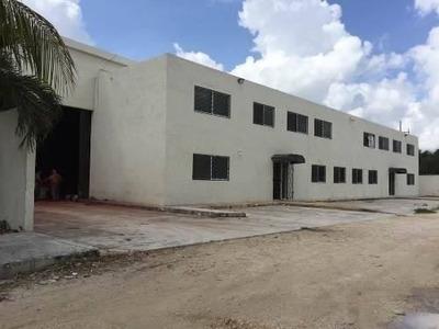 Bodega Industrial En Renta Avenida Colosio Cancun