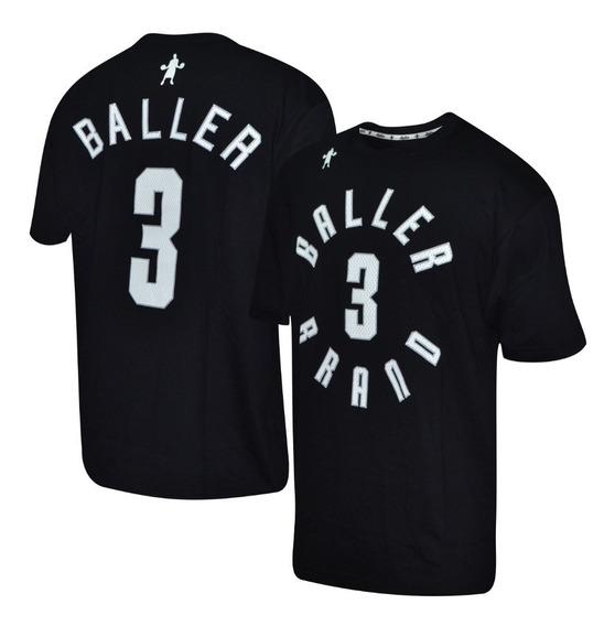 Remera Baller Brand Conney Negro