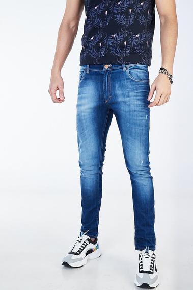 Jean Regular Traxu Azul Hombre