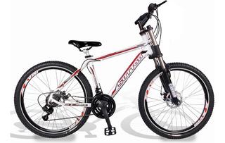 Bicicleta Cannon Gold Gorda 26 Disco Kit 21v Shimano Yamada