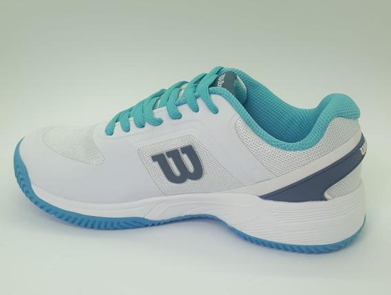 Zapatillas Wilson Tenis Cuotas -set Mujer- 2019 S+w