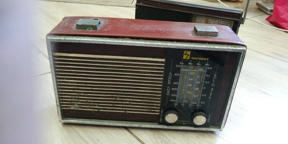 Radio Antigo Wansat , Nao Sei Se Funciona , No Estado Leia